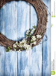 springtime wreath stock photo image 52751343