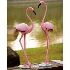 Flamingo Home Decor Pink Flamingo Garden Sculptures