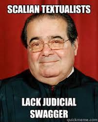Law School Memes - scalian textualists lack judicial swagger law school meme