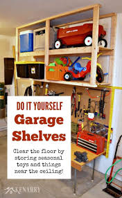 diy garage storage ceiling mounted shelves giveaway diy garage storage great idea for ceiling mounted shelves in the garage for better seasonal