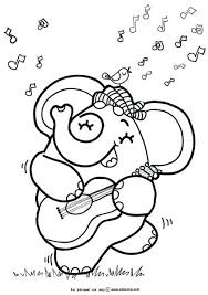 guitar coloring pages to print 49 best printable coloring images on pinterest coloring books