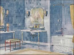 Crane Bathroom Fixtures 1925 Crane Plumbing Fixtures Blue Tile 1920s Bathroom