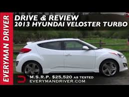 hyundai veloster car and driver detailed review 2013 hyundai veloster turbo on everyman driver