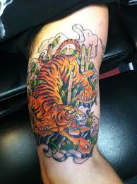traditional japanese tiger meaning for design idea for