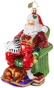 Santa Claus Christmas Ornaments by St Nicks Christmas Store Trees Ornaments Collectibles
