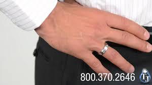mens wedding bands cobalt mens cobalt wedding band by benchmark lander sectional design 6mm