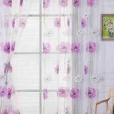 fashion window curtains solid color window treatment panels door