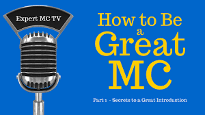How To Do A Wedding Ceremony Program How To Be A Great Mc Emcee Master Of Ceremonies 1