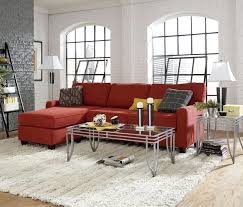 Red Sectional Sofas by Modern Fabric Red Sectional Sofa With Chaise Vg201 Images 33