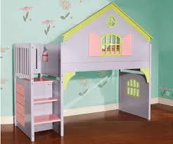 House Bunk Beds 0300 Doll House Stair Stepper Loft Bed Discovery World Furniture