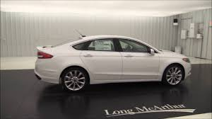 2014 Fusion Sport 2017 Ford Fusion Platinum Standard And Optional Equipment Youtube