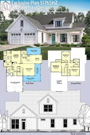 plan 51765hz exclusive modern farmhouse plan with flexible
