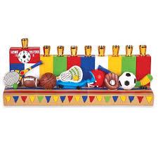 sports menorah durable resin all sports menorah