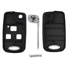 lexus key shell amazon com for lexus is200 ls400 rx300 gs300 car 3 button flip