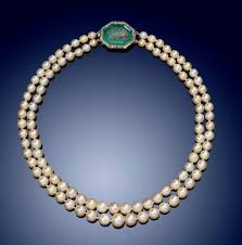 natural necklace pearl images A two row natural pearl necklace lot 1881 jewellery jpg