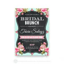 bridal brunch invitations wedding shower tea party invitations printable bridal shower