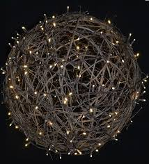 lighted grapevine balls 24 inch rustic wedding decorations