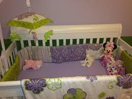 Sweet Potato Crib Bedding Lulu Sweet Potato Baby Bedding By Glenna Jean Purple And Green
