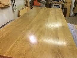 White Oak Dining Room Set - quarter sawn white oak dining room table by logann lumberjocks