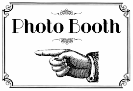 photo booth sign photo booth finger point 77 vw photo booth