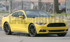 Mustang 2015 Gt Black First Photos 2016 Ford Mustang With New Black Accent Package