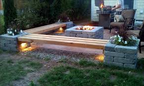 Firepit Seating Pit Benches Seating Busca Dores