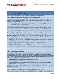 sow template pm pm001 04 risk assessment sow template