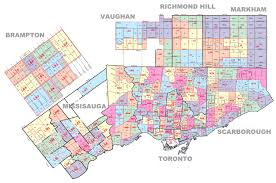 Map Of Phoenix Zip Codes by Toronto Zip Code Map Zip Code Map