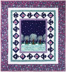 swan lake quilt by heidi pridemore 37x41