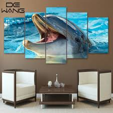 Marine Home Decor High Quality Dolphin Posters Promotion Shop For High Quality
