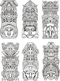 527 totem pole stock illustrations cliparts and royalty free