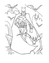 batman printable colouring pages funycoloring