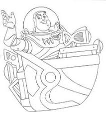 awesome coloring buzz lightyear accompanied