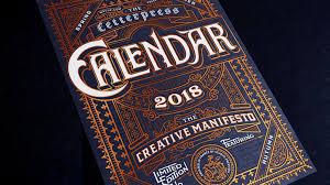 letter press 2018 mr cup letterpress calendar by mr cup kickstarter