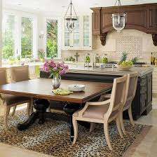 kitchen island with dining table best 25 kitchen island designs with seating ideas on