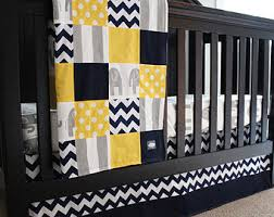 Grey And Green Crib Bedding Baby Boy Nursery Bedding Set Navy Blue And Lime Green Crib