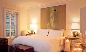 canvas art headboard eclectic bedroom chango u0026 co