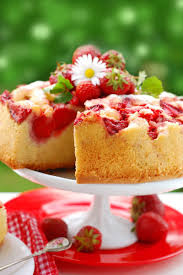 fresh strawberry upside down cake recipe this looks amazing