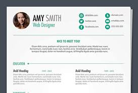resume template with picture 115 best free creative resume templates