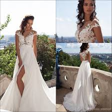 used wedding dresses uk discount summer cheap wedding dresses lace applique sheer