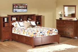 King Size Platform Bed With Storage Plans - bookcase king size platform bed with storage and bookcase
