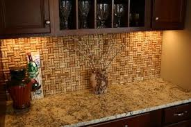 exles of kitchen backsplashes wine cork kitchen mat the better exles ive seen of tiered