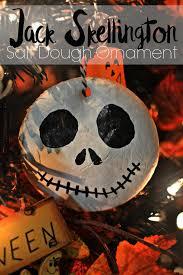 skellington salt dough ornament this s
