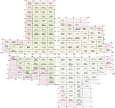 Van Texas Map Texas Topographic Index Maps Tx State Usgs Topo Quads 24k