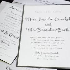 silver wedding invitations silver charcoal wedding invitations