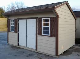 10x14 cottage style shed with new horizontal shiplap siding pine