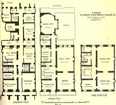 library of congress floor plan houses in fin de siècle britain floor plans and the layouts of