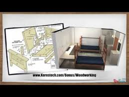 Free Bunk Bed Plans 2x4 by Wuden Deisizn