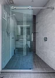 Frameless Shower Sliding Glass Doors Sliding Shower Doors Shower Solution