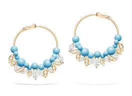 piaget earrings piaget turquoise earrings from the extremely piaget
